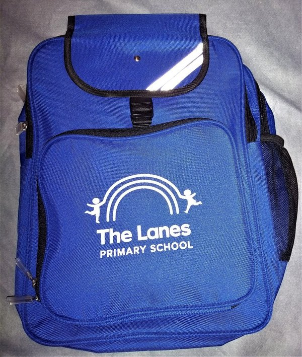 The Lanes school back pack
