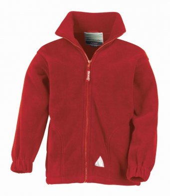 Fleece Jacket with Eskdale chest logo