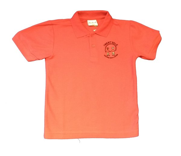 Trent Vale Polo shirt with school logo