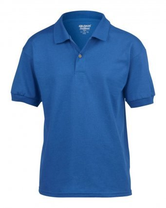 Discovery Explorer polo with logo (Royal)
