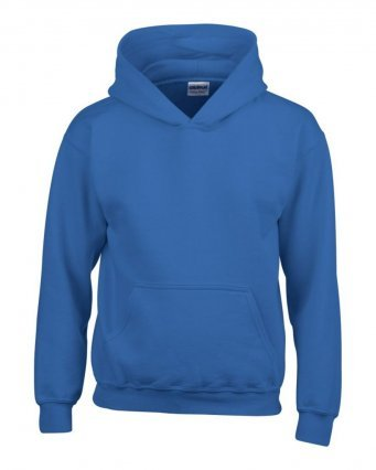 Discovery Explorer Hoodie with logo & name option (Royal)