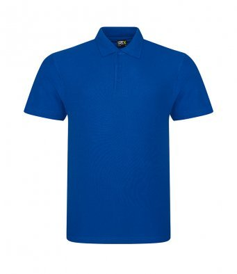 Adult Discovery Explorer polo with logo (Royal)