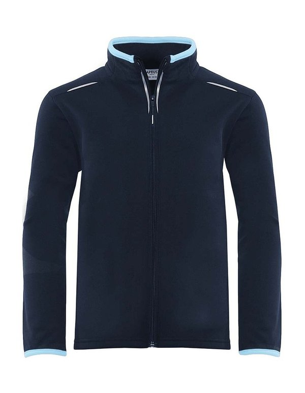 Full zip training top with initials & school logo